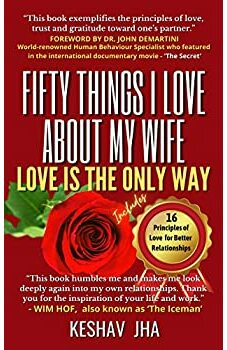 Fifty Things I Love About My Wife