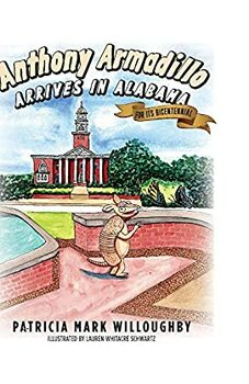 Anthony Armadillo Arrives in Alabama