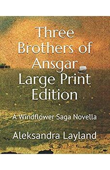 Three Brothers of Ansgar (Large Print Edition)